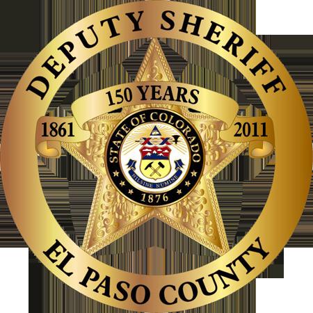 El Paso County Sheriff Badge