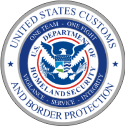 US Border Protection One Team HSI Seal